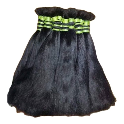 18 Inch Non Remy Double Drawn Bulk Hair, for Personal