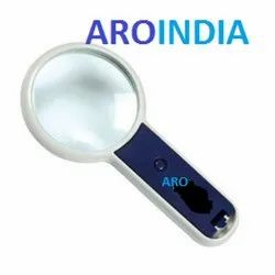 Handy & Sturdy Magnifier with Light & Cells