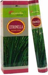 Aromatika Hexa Pack Incense Stick-20 - Citronella