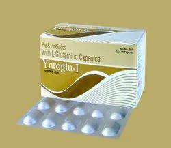 Pre Probiotic - Fructooligosaccharide 200mg   L-Glutamine 100mg
