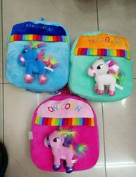 Unicorn 3D Plush Backpack