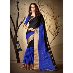 Designer Heavy Cotton Silk Jacquard Saree