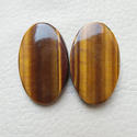 Oval Shape Natural Tiger Eye 6mm Loose Gemstone