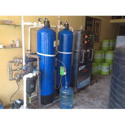 Stainless Steel Semi-Automatic Mineral Water Plant