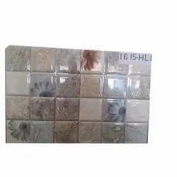 Ceramic Digital Print Kitchen Tiles, Size: Medium, Thickness: 6-8 mm