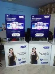 Printed Advertisement Promotional Table