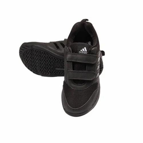 4c8248d61af3 Adidas Black School Boy Velcro Shoe