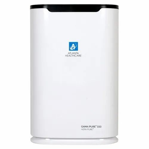 ABS Plastic White Atlanta Healthcare Gama Pure 333 Hepa Pure Room Air Purifier