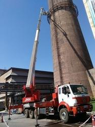 Truck Mounted Boom Lift On Rental