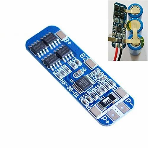 3S 12.6V Lithium 18650 Battery Cell BMS Charger PCB Protection Board 10A 2017
