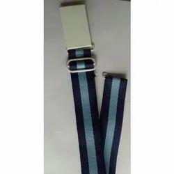 Nylon Striped School Belt, 9 to 15 Years, Handwash