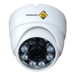 Wallcams Videocon CCTV Dome Camera