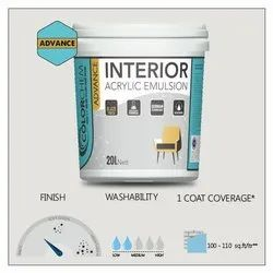Soft Sheen Advance Interior Acrylic Emulsion Paint, Packaging Size: 20 Ltr