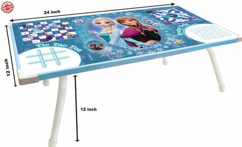 Wooden Disney Frozen Premium Laptop Cum Study Foldable Table For