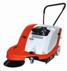 Petrol Operate Sweeper Machine