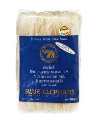 Blue Elephant Thai Pad Rice Noodles, 500gm