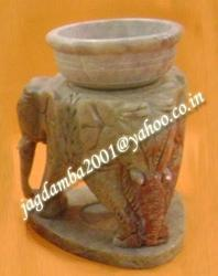 Natural Soapstone Aroma lamp