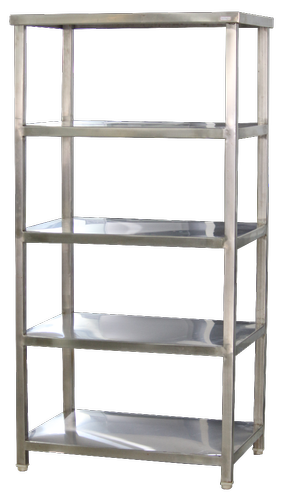 Silver SS Storage Rack for Storage Food / Vessel