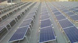 Aluminum Non Penetrating Solar Panel Mounting Structure