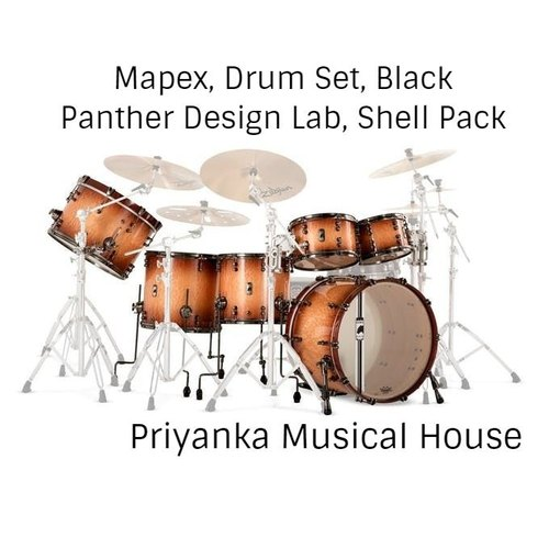 Mapex Drum Set Black Panther Design Lab Shell Pack At Rs 471500