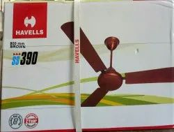 Brown Electric Havells Ss390 Ceiling Fan, Warranty: 2 Year