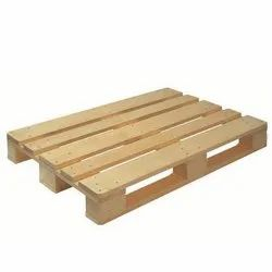 Four Way Rectangular Used Wooden Pallets, For Industrial, Capacity: 1.5 Tons