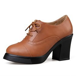 Ladies Leather Formal Shoes