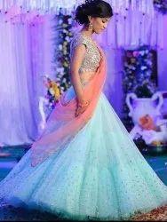Ladies Party Wear Langha Choli