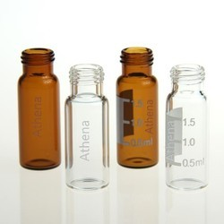 2ml Transparent screw chromatographic bottle,autosampler headspace vials