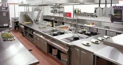 SS 304 Commercial Kitchen Equipment's