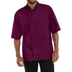 Chef Coat Short Sleeve Double Breasted