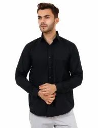 Linen Full Sleeve Plain Shirt