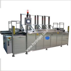 Multi Stage Ultrasonic Cleaning Machine