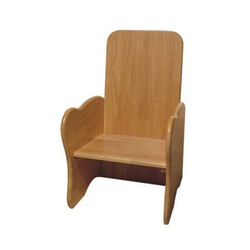 Honey , Wallnut Kiddies Wooden Chair