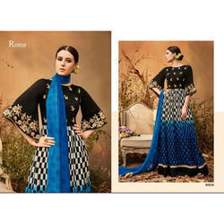 Roma Ladies Embroidered Long Suit