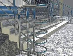 Commercial Stainless Steel Railing