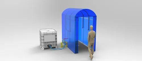 Sanitisation Disinfectant Tunnel Chamber