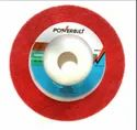 4 Red Mat Wheel SS Polishing Powerbilt