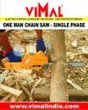 Single Phase Vimal-35 Electric Chain Saw Machine