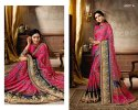Lifestyle Maher Series 58441-58450 Stylish Party Wear Khusi Brasso Saree