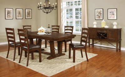 Shad Simple Wooden Dining Table