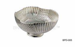 Pure Silver Handmade Punch Bowl