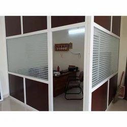 UPVC Office Cabin