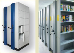 Library Mobile Storage Racks