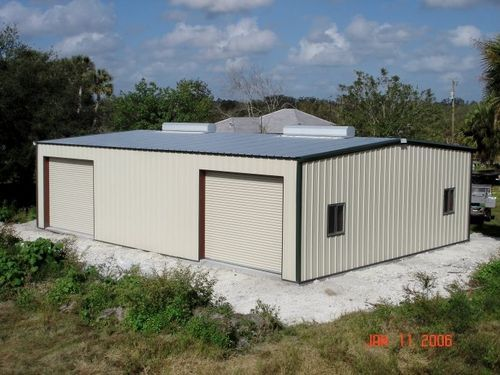 Color Coated Profile Sheet Industrial Shelters Manufacturer From