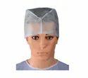Disposable White Surgical Cap