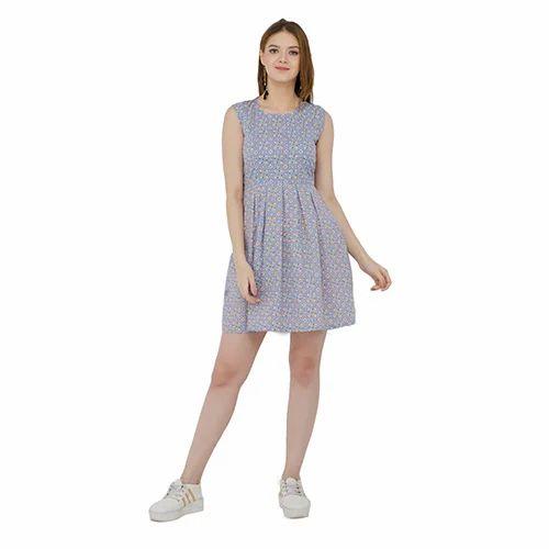 6fa49322d616e Cotton Sleeveless Printed Short Dress, Rs 300 /piece, Redmoon ...