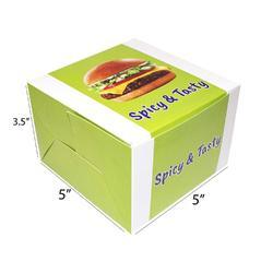 Printed Burger Box