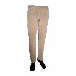 Cotton Regular Fit Mens Plain Trouser, Machine wash