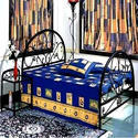 MS Wrought Iron Single Bed